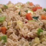 Salada de arroz cearense