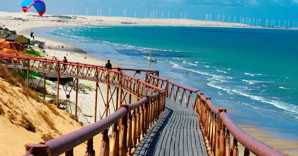 Praia de Canoa Quebrada Aracati Ceará