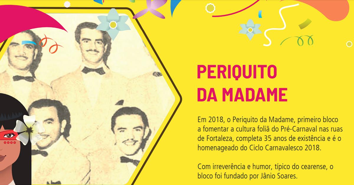 carnaval fortaleza 2018 periquito da madame