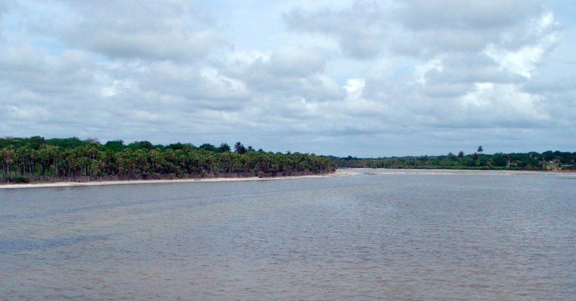 hidrografia do Ceará - Rio Jaguaribe